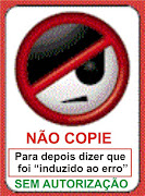 SEM AUTORIZAO NO COPIE
