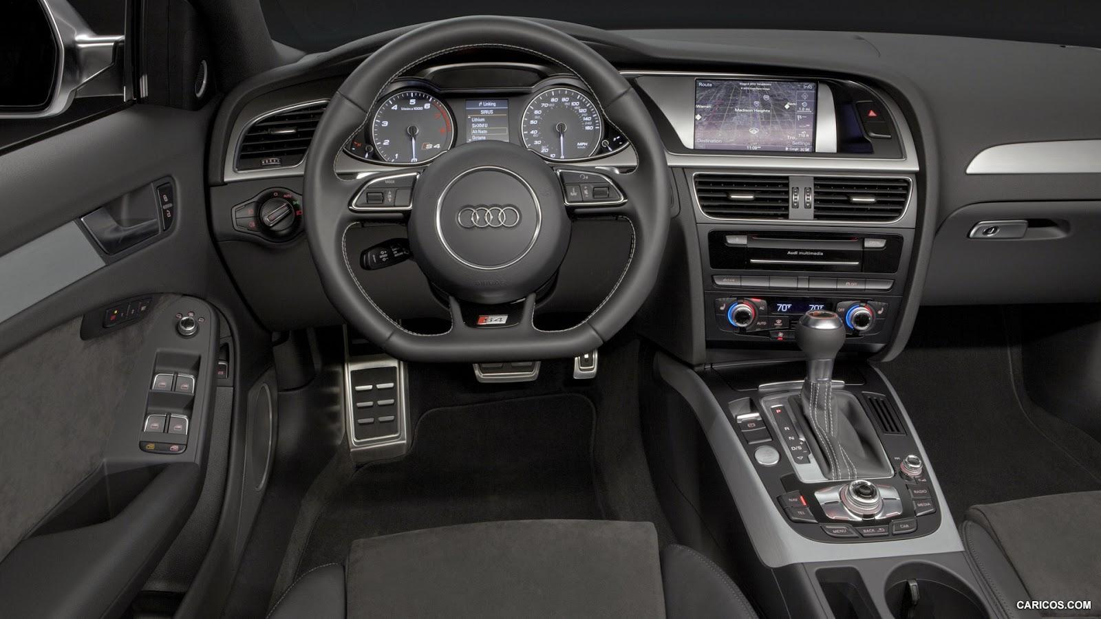 2013 Audi S4 Interior