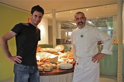 Rubén Valbuena y el Chef Juan Pablo Felipe. Blog Esteban Capdevila