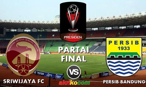 Final Piala Presiden 2015 di SUGBK, Persib Bandung melawan Sriwijaya FC