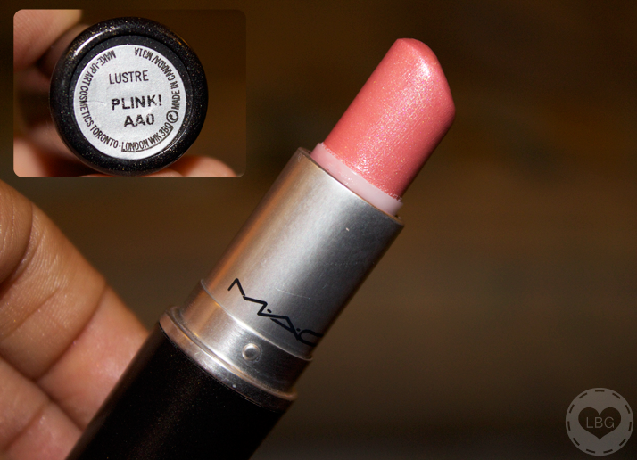Christmas Challenge: 30 Lipsticks in 30 Days #01 Mac Plink! | Le Beauty Girl