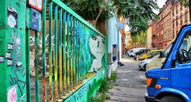 Efeitos visuais em Arte de rua Great Streetart