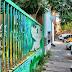 Artistas de rua criam trabalhos que só podem ser vistos sob determinados ângulos