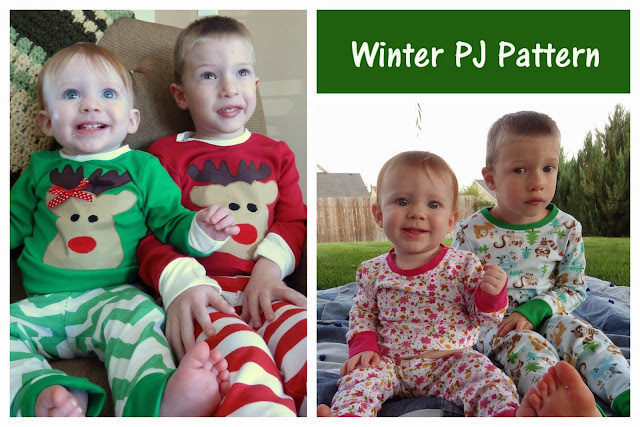 Peek-a-Boo Winter Pj's
