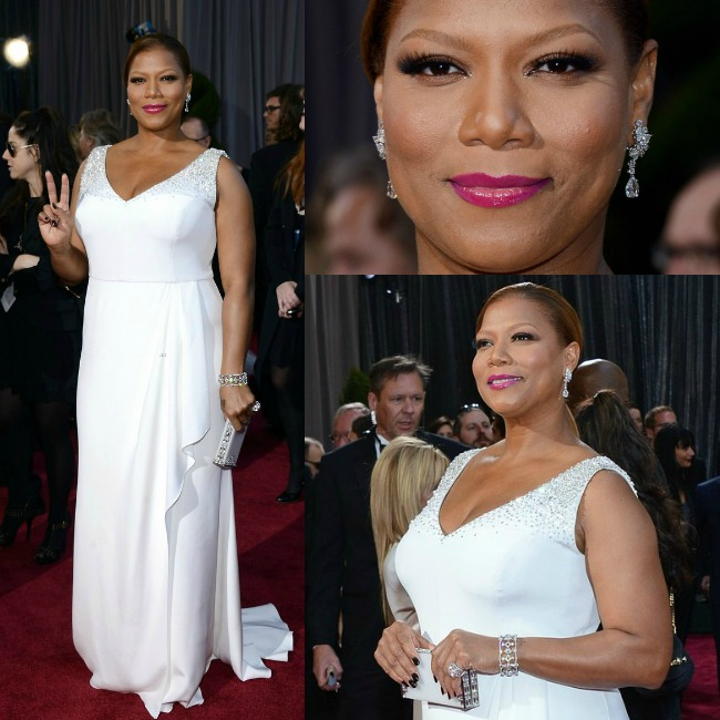 il look di queen latifah