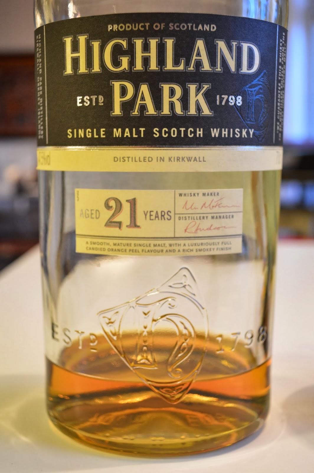 Tasting two Highland Parks – 21yo 47,5% ABV vs. 25yo 45,7% ABV