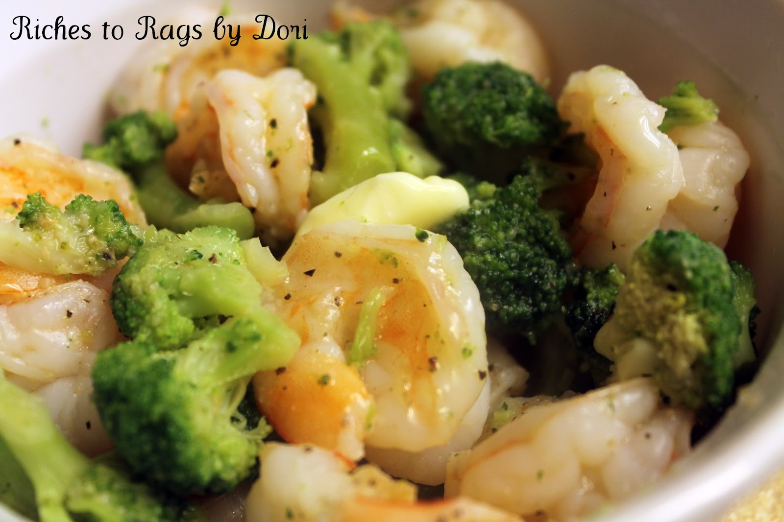 Riches to rags by dori steamed shrimp and broccoli with rice steamed shrimp and broccoli with rice cooker and steamer giveaway forumfinder Choice Image