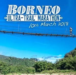 Borneo Ultra Trail Marathon 2018 - 11 March 2018