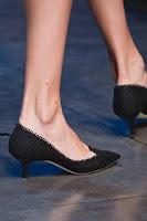 Плетени обувки на нисък ток Dolce & Gabbana