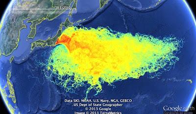 contaminacion radioactiva fukushima