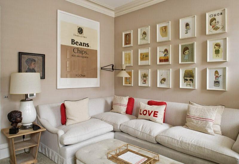 decoracao de sala unica:Pensando Alto