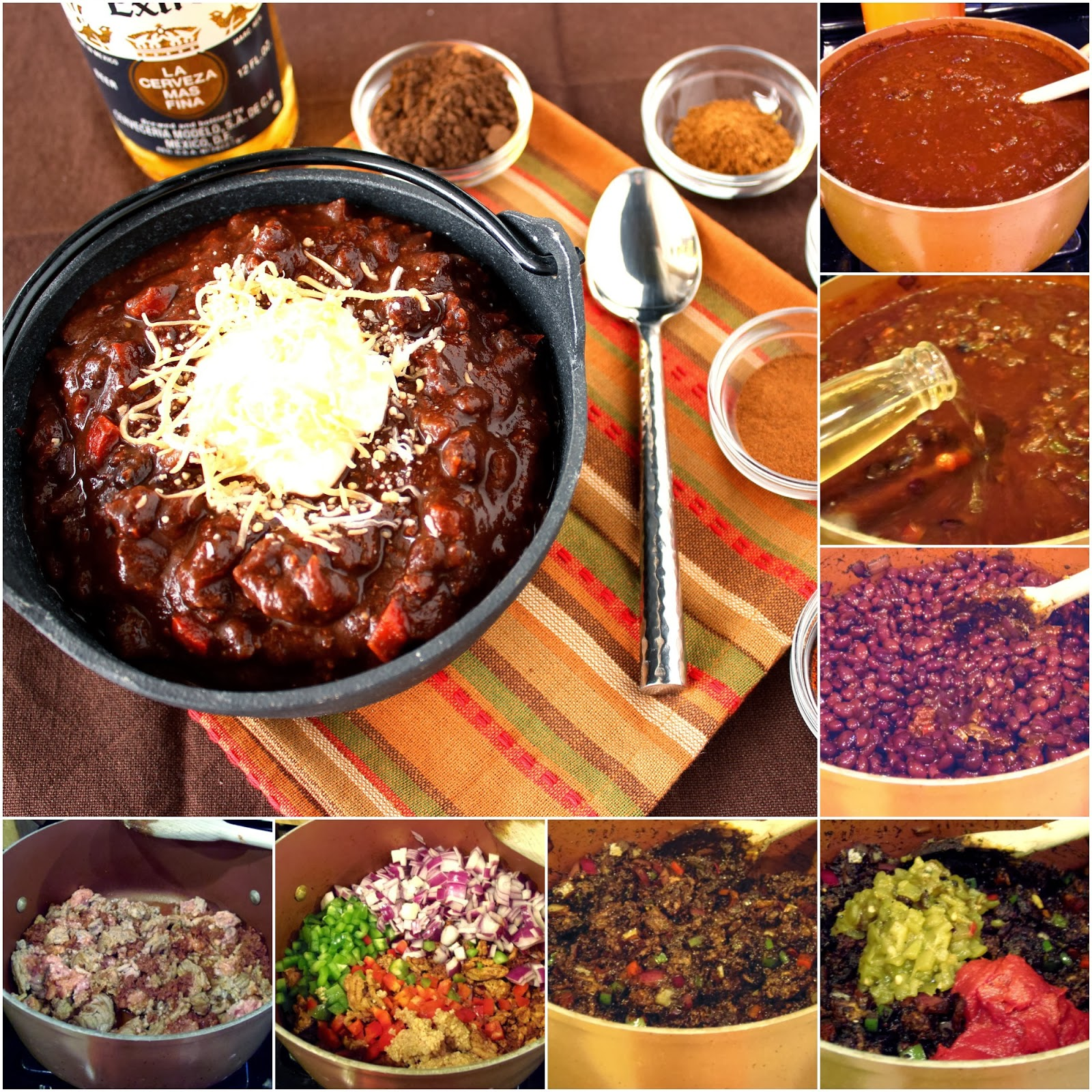 Kudos Kitchen By Renee - Olé Mole Turkey Chili Recipe