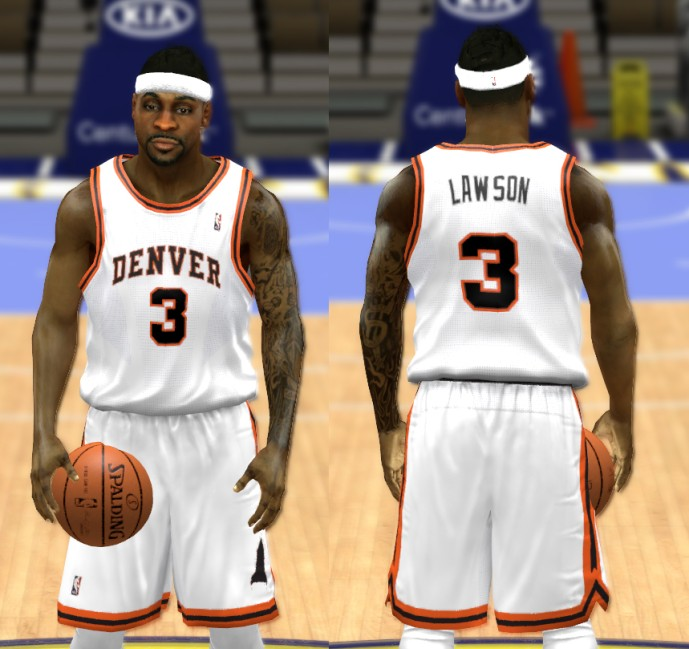 Nuggets Jersey Rainbow: NBA 2K14 Complete Denver Nuggets Jersey Patch