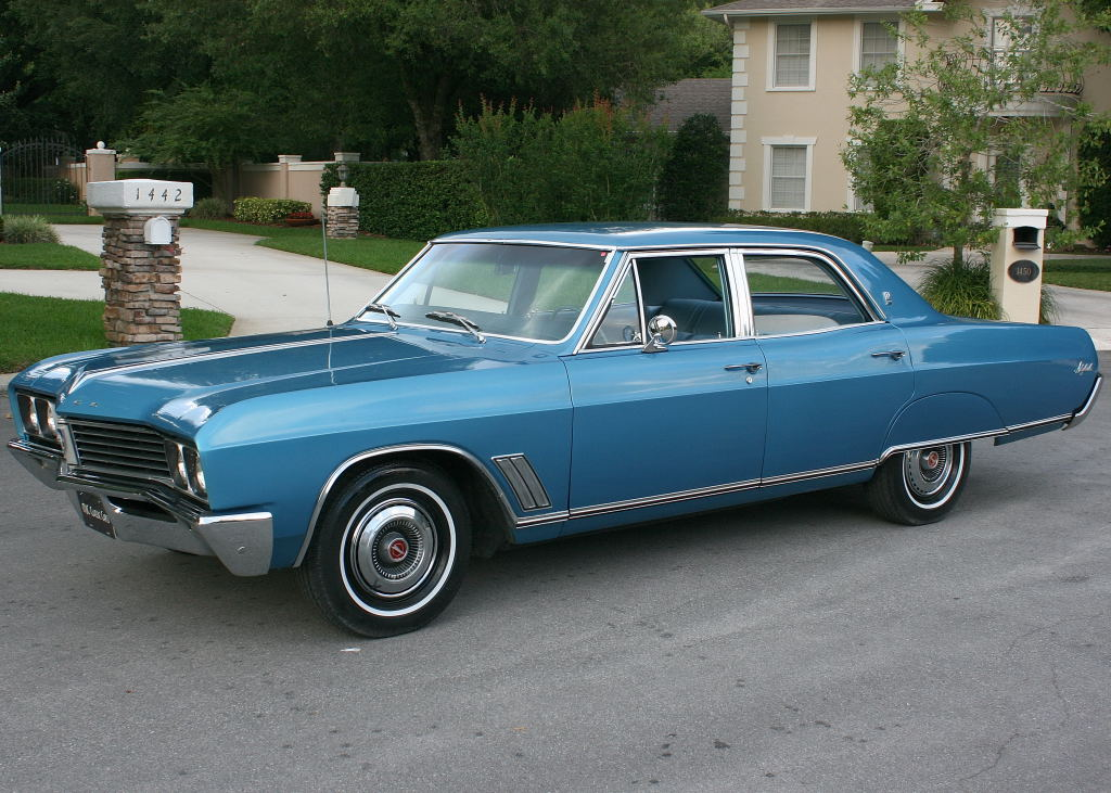 All american classic cars 1967 buick skylark 4 door sedan for American classic cars