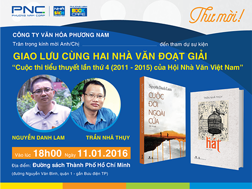 Giao lưu Nhà văn đoạt giải Tiểu thuyết Hội nhà văn Việt Nam: Nguyễn Danh Lam &am