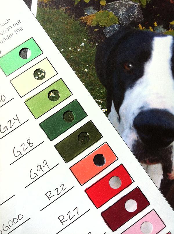 I Like Markers Helpful Color Chart