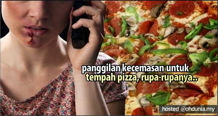 Buat Panggilan Kecemasan 911 Untuk Tempah Pizza, Rupa-Rupanya...