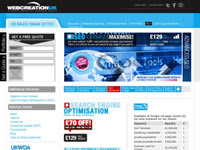 Webcreationuk: Search Engine Optimisation Services UK