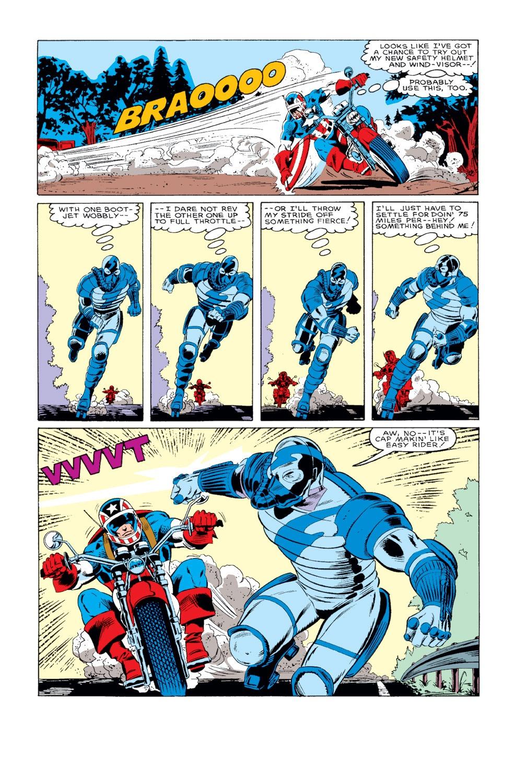 Captain America (1968) Issue #318 #246 - English 18