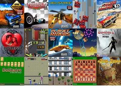 descargar juegos para lg t300 touch gratis