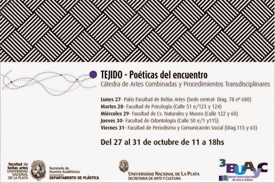 Participamos de la III Bienal Universitaria de Arte y Cultura