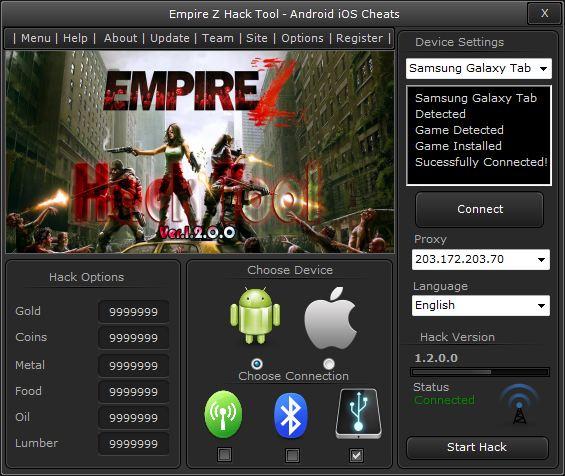 empire z cheats android