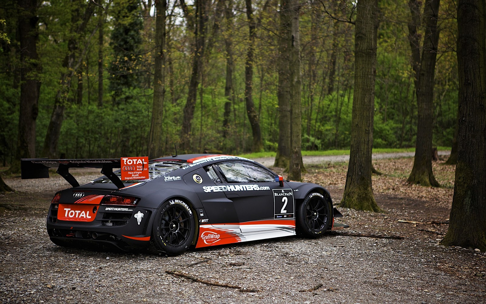 Paulbarford Heritage The Ruth Audi R8 Car Wallpapers