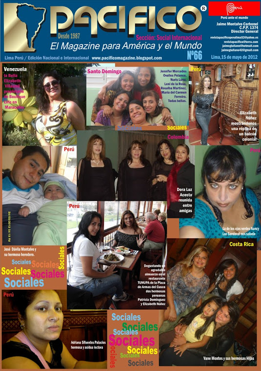 Revista Pacífico Nº 67 Social Internacional