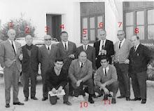 Grupo de Profesores antiguo Colegio Calvo Sotelo Curso 1967-68
