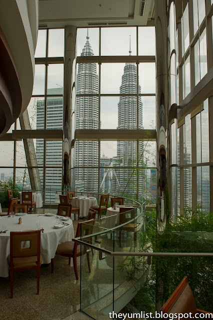 Authentic Chinese food, best view in KL, Chinese fine dining, luxurious ambiance, Sharing Set at the Grand Hyatt Kuala Lumpur, Thirty 8,
