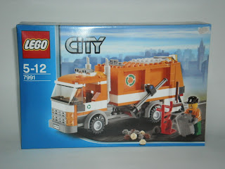 lego city garbage truck instructions