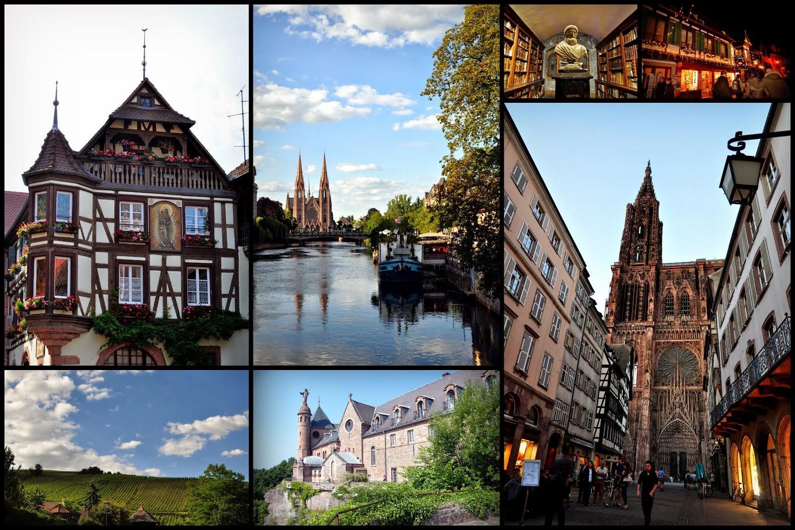En passant par l'Alsace