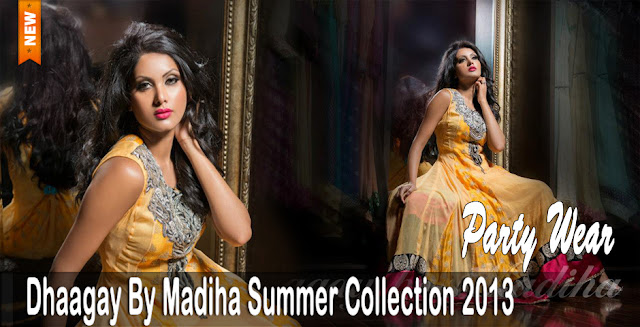 Women's Clothes | Dhaagay Party Wear Summer Collection 2013