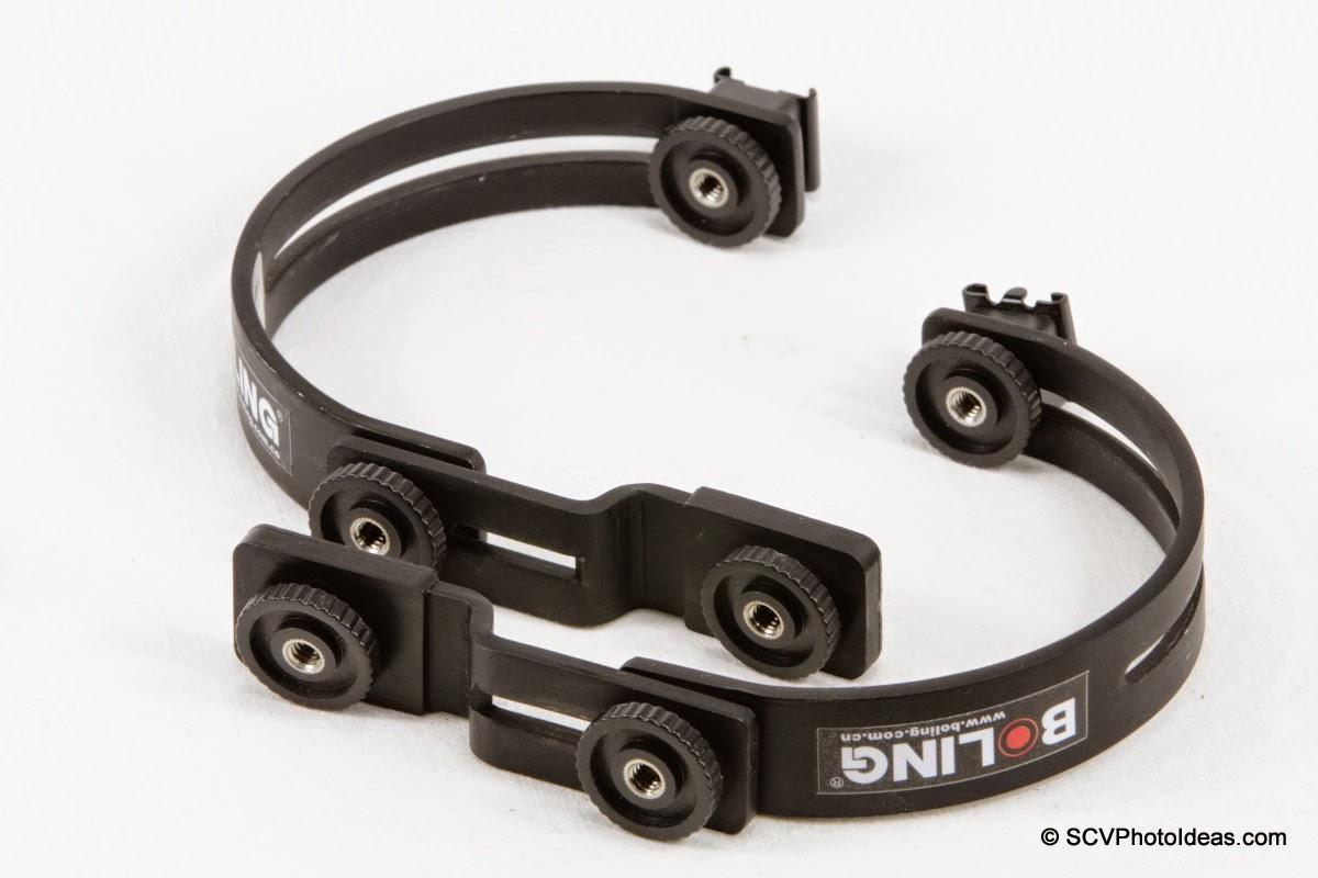 Boling C-Shape Flash Bracket pair
