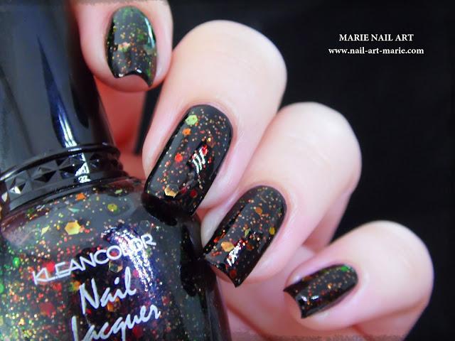 Kleancolor Chunky Holo Black8
