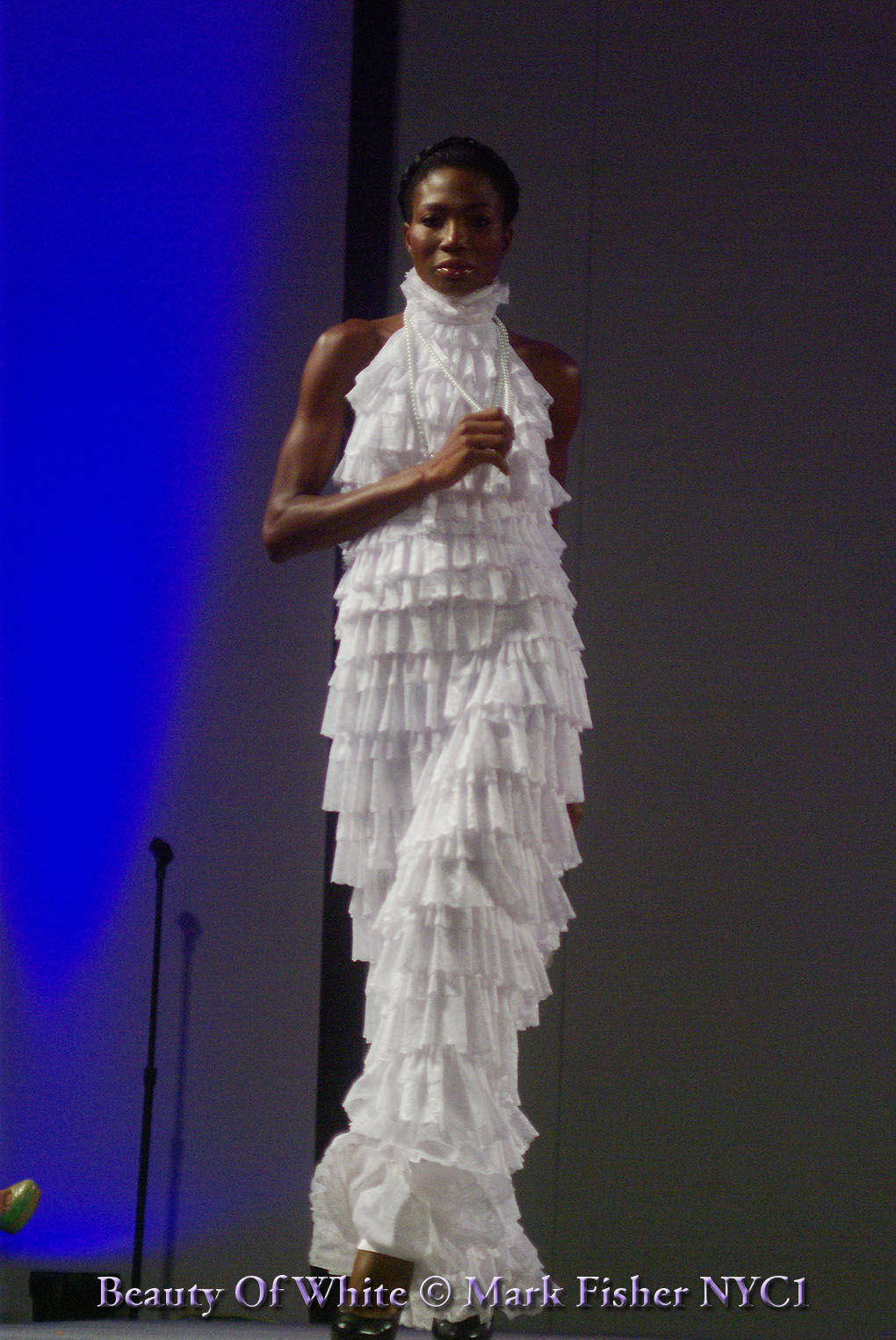 Mark fisher american photographer beauty of white for American haute couture designers