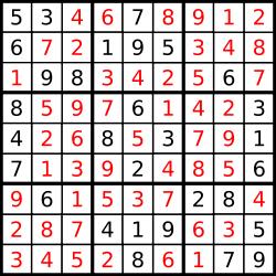 Aktiviti Menarik Bulan Sains dan Matematik Pertandingan Sudoku
