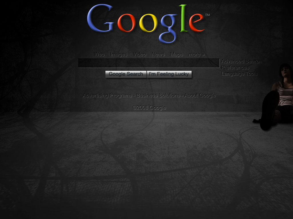 google dark wallpaper