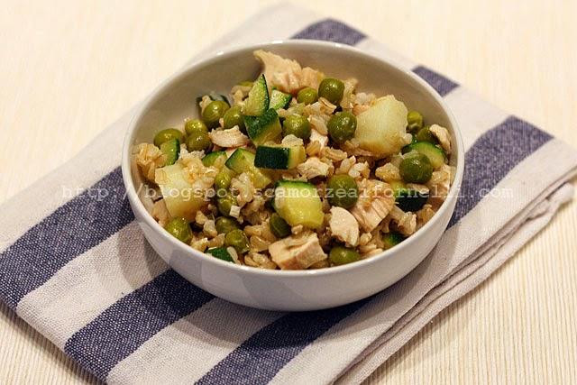 Insalata tiepida di riso integrale - Cucinare riso integrale ...
