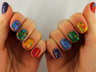 Rainbow Skittles feat. Candy Lacquer - Over The Rainbow