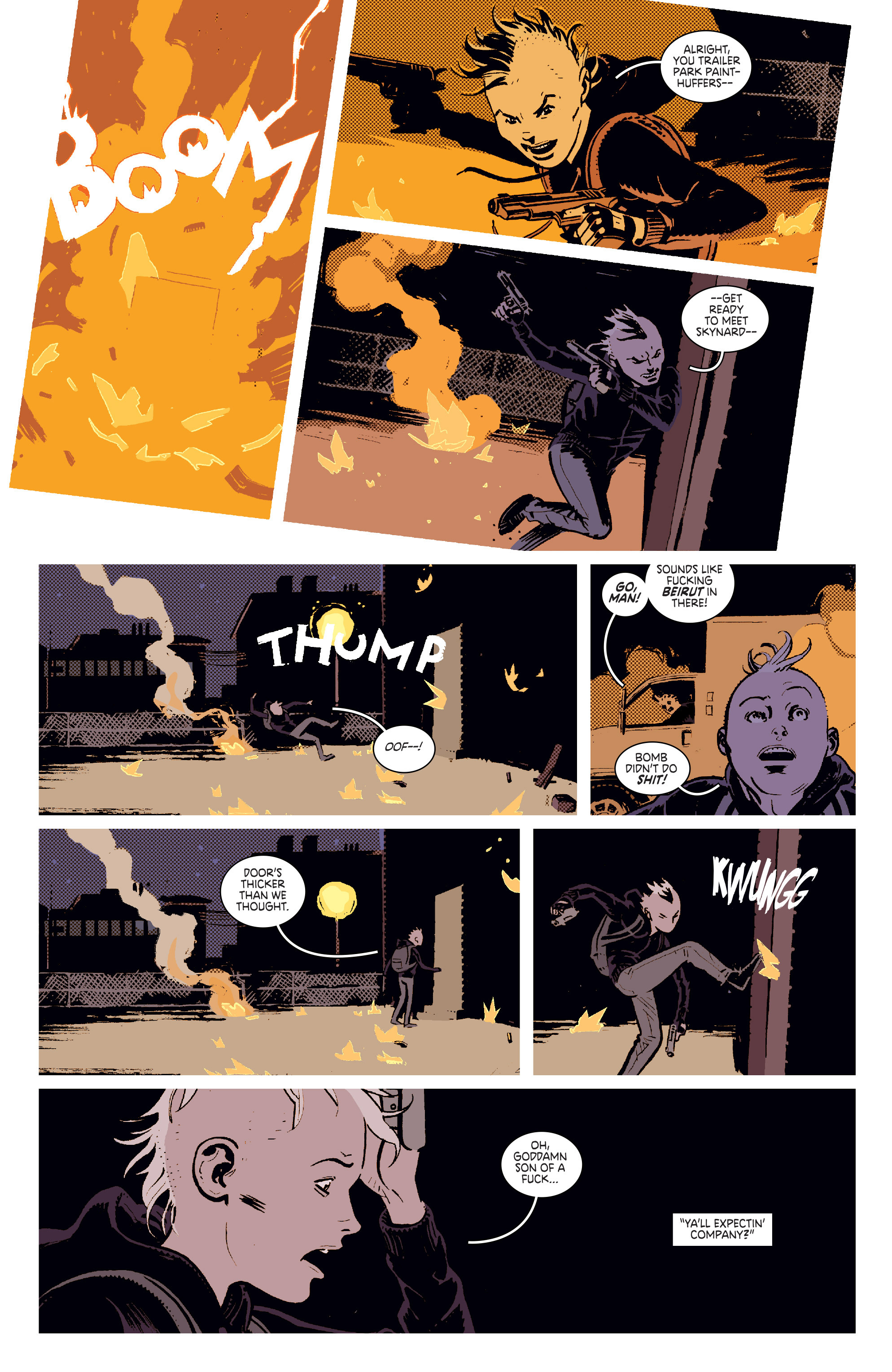Read online Deadly Class comic -  Issue #11 - 4