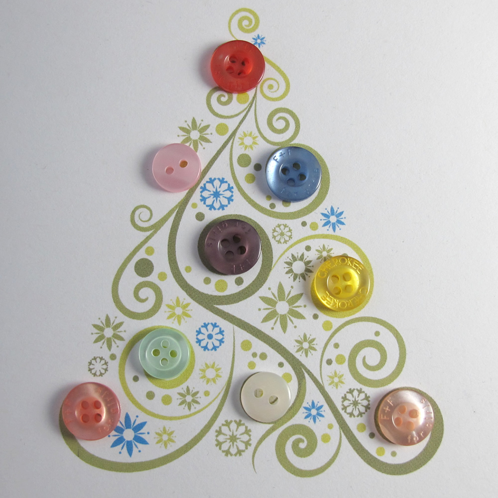 Christmas Craft Ideas Buttons