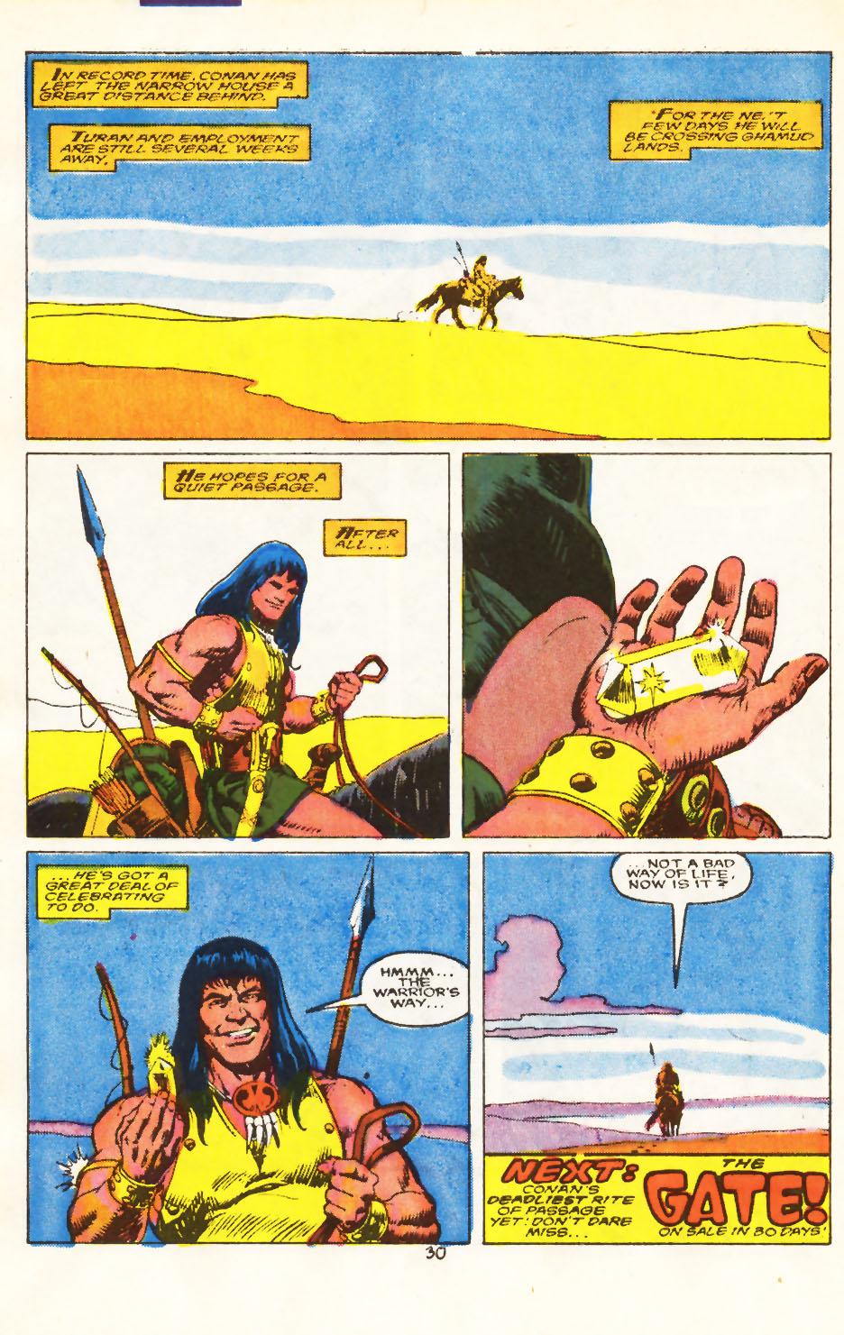Conan the Barbarian (1970) Issue #212 #224 - English 23