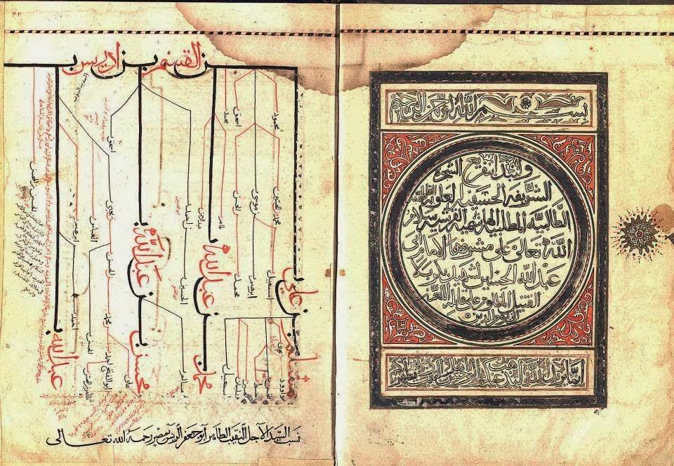 مخطوطة نسبية نادرة