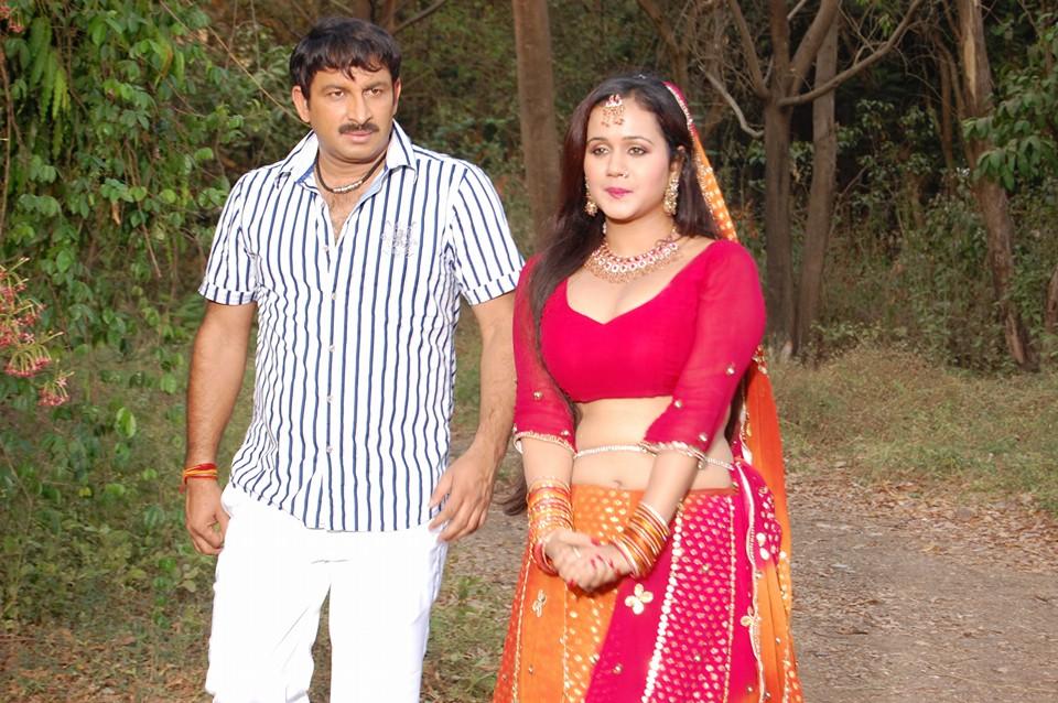 Yadav Pan Bhandar Bhojpuri Movie Shooting pic