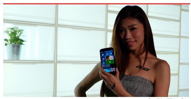 Ternyata Smartphone Windows 10 Acer Juga Bisa Jadi PC