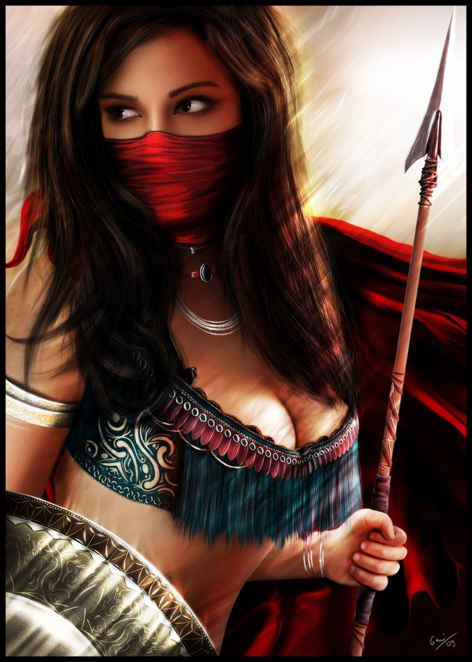 tattoos of women warriors. established women warriors
