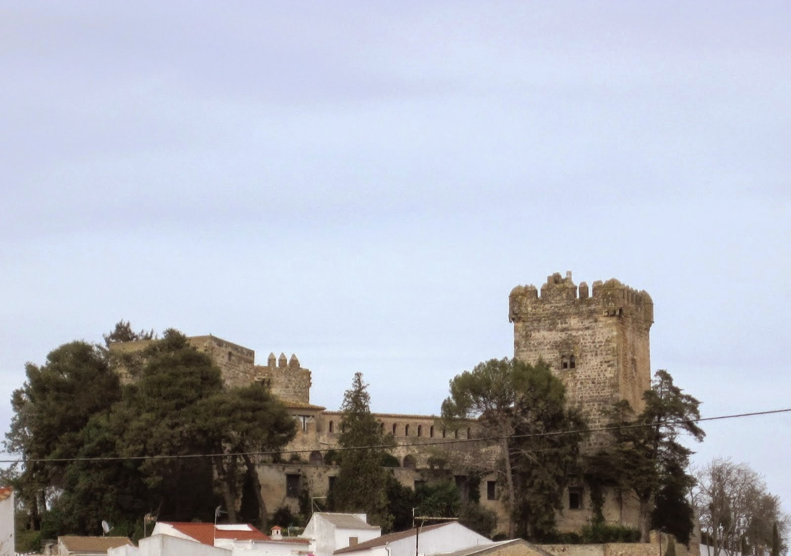 Castillo Ducal de Frías. Montemayor