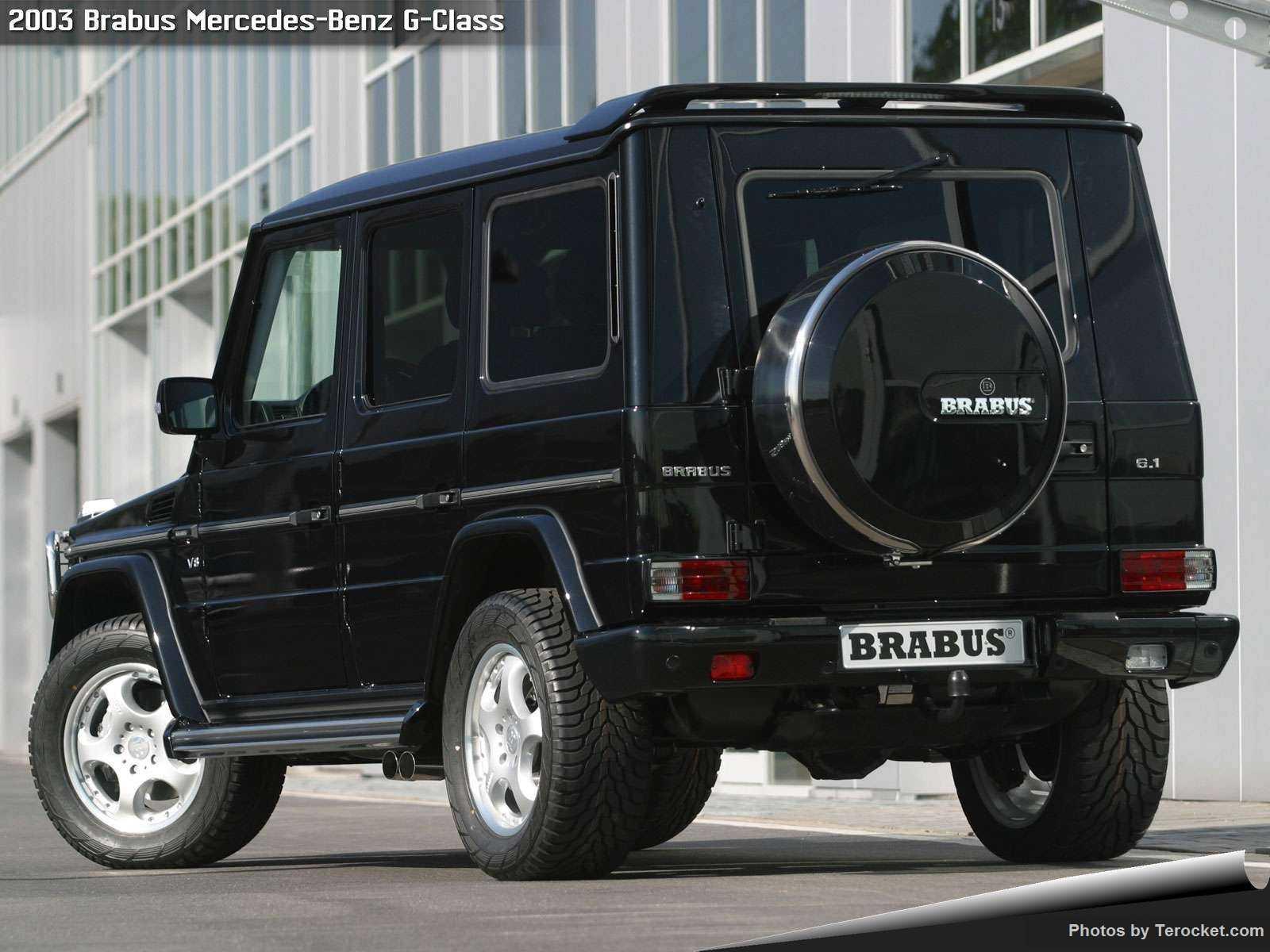 Hình ảnh xe ô tô Brabus Mercedes-Benz G V12 Biturbo 2003 & nội ngoại thất