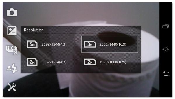 Aplikasi Kamera - Sony Xperia M